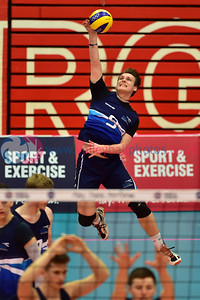 Scottish University vs Scotland Select Challenge Matches, University of Edinburgh, Centre for Sport and Exercise, 20 April 2018.  © Lynne Marshall  https://www.volleyballphotos.co.uk/2018/SCO/Students/2018-04-20-University-vs-Scotland-Select-Challenge/