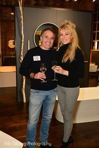 Maurice Lombardo and Danielle Jackson