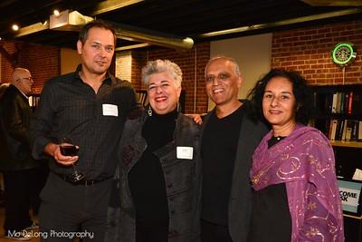 Eugene Resheton, JoAnn Edwards, and Zahid and Tasneem Sardar