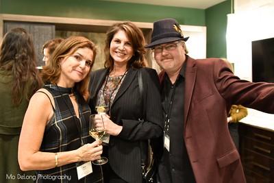 Mimi Towle, Lesley Cesare and Dan Jewett