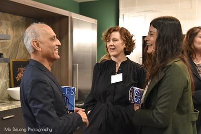 Zahid Sardar, Erin Cullerton and Coralie Langston-Jones