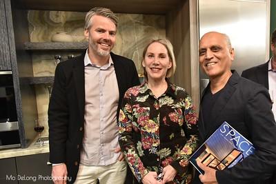 Tim Paschke, Debra Hershon and Zahid Sardar