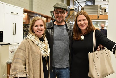 Carrie Durham, Christian Mayer and Maria Fritz