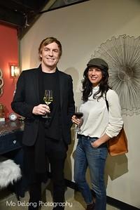 Kevin Hackett and Shirin Richens