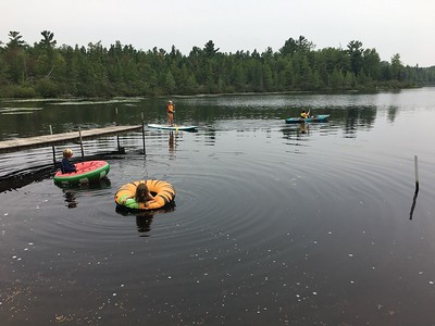 SUSRSOCKS AND MAXTEDS TO COTTAGE AUGUST 2018