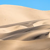 Eureka Valley Dunes.  Picture taken from the campground.