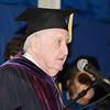 Professor of English, Dr. James Cotter, was the Master of Ceremonies for Mount Saint Mary College's 55th Commencement Exercises for the graduating Class of 2018 in Newburgh, NY on Saturday, May 19, 2018. Hudson Valley Press/CHUCK STEWART, JR.