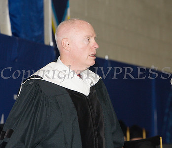 Robert R. Dyson, Chairman and CEO of The Dyson-Kissner-Moran Corporation was the Commencement Speaker for Mount Saint Mary College's 55th Commencement Exercises for the graduating Class of 2018 in Newburgh, NY on Saturday, May 19, 2018. Hudson Valley Press/CHUCK STEWART, JR.
