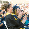 Newburgh Free Academy held its 153rd Commencement Exercises for the graduating Class of 2018 on Academy Field in the City of Newburgh, NY on Thursday, June 21, 2018. Hudson Valley Press/CHUCK STEWART, JR.