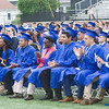 Students applaud speakers during the Poughkeepsie High School 146th Commencement Exercises for the graduating Class of 2018 on Friday, June 26, 2018 in Poughkeepsie, NY. Hudson Valley Press/CHUCK STEWART, JR.