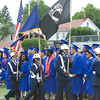 Presentation of Colors by Poughkeepsie High School AFJROTC during the Poughkeepsie High School 146th Commencement Exercises for the graduating Class of 2018 on Friday, June 26, 2018 in Poughkeepsie, NY. Hudson Valley Press/CHUCK STEWART, JR.