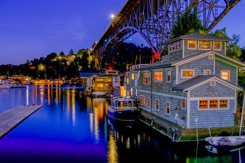 Houseboats of Seattle