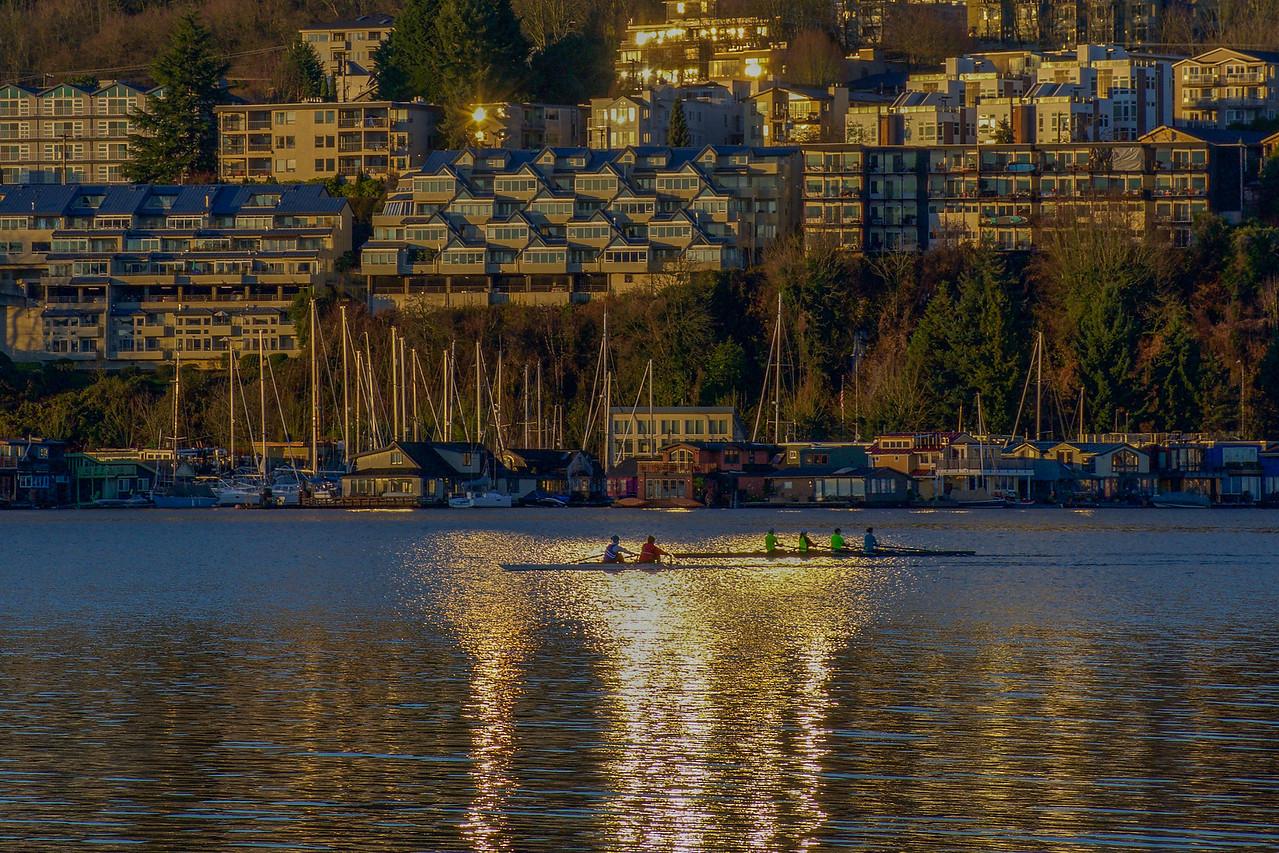 Sunrise Sparkles in Seattle