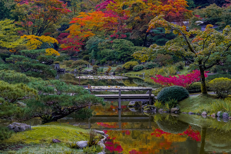 Autumn Garden Mosaic