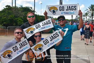 Jacksonville Jaguars vs New England Patriots @ TIAA Bank Field - 9.16.18