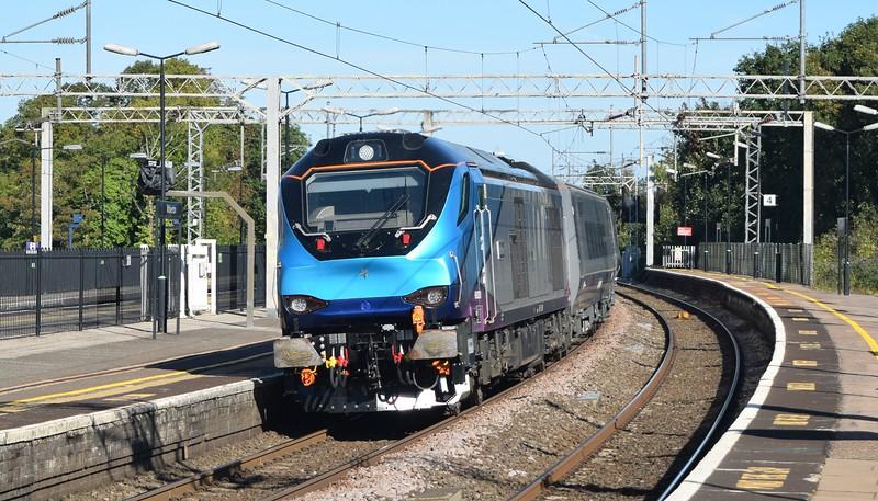 UK Rail September 2018