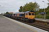 14 September 2018 :: 66737 is passing Basingstoke with 4M33 from Southampton to Wellingborough