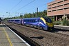 13 September 2018 :: Hull Trains 180 110  is northbound through Welwyn Garden City  working 1H02, the 0948 from King's Cross to Hull