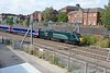 19 September 2018 :: Slowing in preparation for a stop at Newbury is 43093 'Old Oak Common HST Depot 1978 - 2018' leading 1A83, the 1132 from Paignton to Paddington