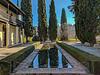 Garden pool. Casa del Chapiz