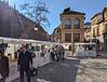 Little market in Paseo de los Tristes