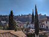 View of the Alhambra, from Casa del Chapiz