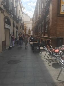 Street scene in Seville - Grace Penn