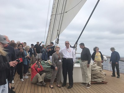 Witnessing the Sea Cloud II under sail - Grace Penn