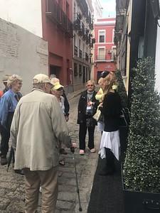 Chatting in Seville - Grace Penn