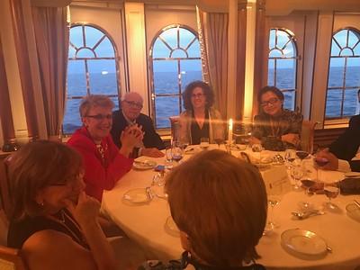 Dining aboard the Sea Cloud II - Grace Penn