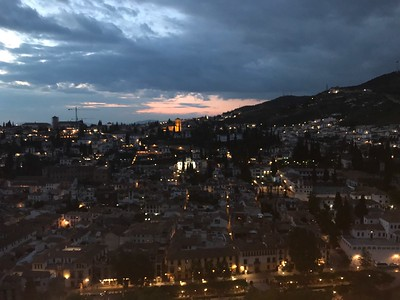View from the Alhambra - Grace Penn