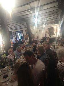Group lunch in Seville - Grace Penn
