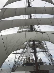 The Sea Cloud II under sail - Grace Penn