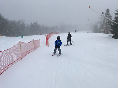 Skiing at Bretton Woods