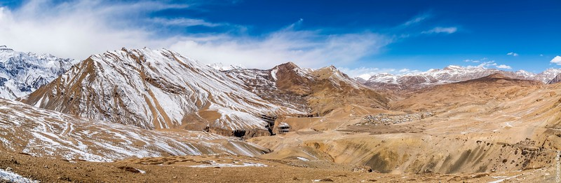 Kibber and Chicham Villages in the Spiti Valley.