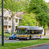 MBTA Route 72 bus on Aberdeen Ave.