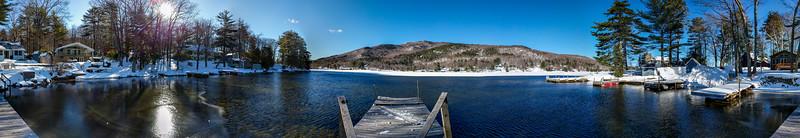 Lake Sunapee panorama