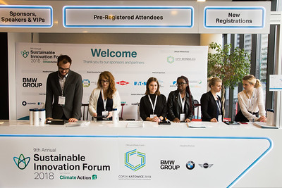 Poland, Katowice, 9-10. Dec 2018. 9th Sustainable Innovation Forum during COP 24. Photo: Grzegorz Klatka for Climate Action
