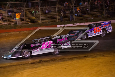 Michael Page (18X) and Ronnie Johnson (85)