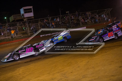 Michael Page (18X), David Seibers (18), Ronnie Johnson (85) and Will Roland (22)