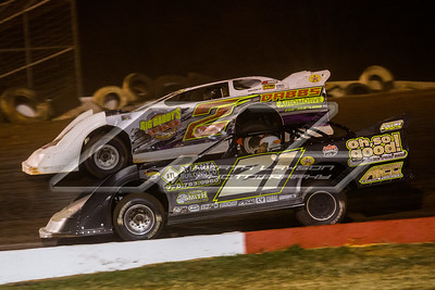Kenny Collins (21) and Jeff Johns (2)