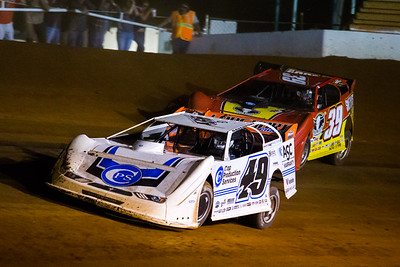 Jonathan Davenport (49) and Tim McCreadie (39)