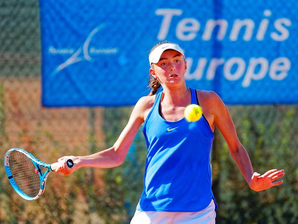 01.08 Fatma Idrizovic - Tennis Europe Junior Masters 2018