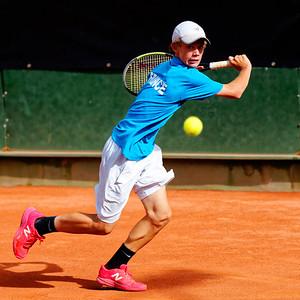 01.01c Luca Van Assche - France - Tennis Europe Summer Cups final boys 14 years and under 2018