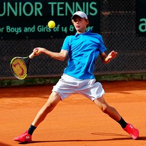 01.01a Luca Van Assche - France - Tennis Europe Summer Cups final boys 14 years and under 2018