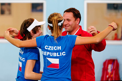 01.01h Happy after winning final - Czech Republic - Tennis Europe Winter Cups by HEAD final girls 14 years and under 2018