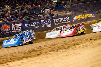 Brandon Sheppard (B5), Tim McCreadie (39) and Jonathan Davenport (49)