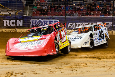 Tim McCreadie (39) and Jonathan Davenport (49)