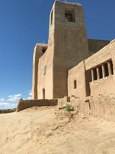 Acoma church - Bridget St. Clair
