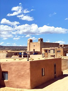 Beautiful Acoma Pueblo - Bridget St. Clair